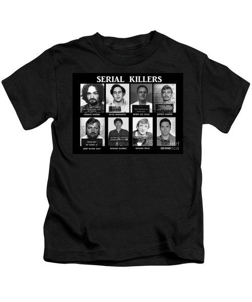Serial Killers - Public Enemies Kids T-Shirt