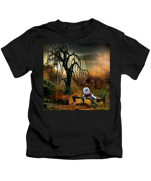 Shades Of The Fall  Kids T-Shirt