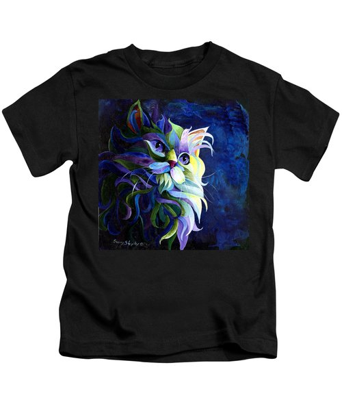 Shadow Puss Kids T-Shirt