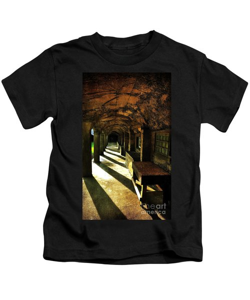 Shadows And Arches I Kids T-Shirt