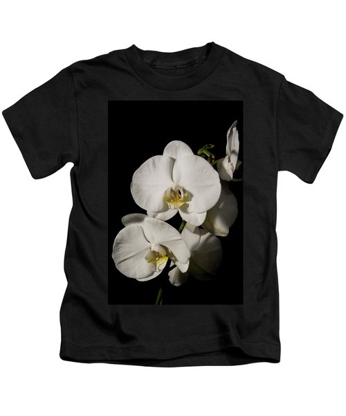 Shadowy Orchids Kids T-Shirt