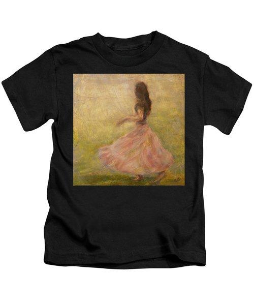 She Dances With The Rain Kids T-Shirt