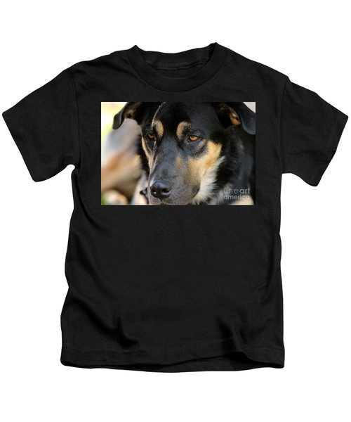 Shepherd Face Kids T-Shirt