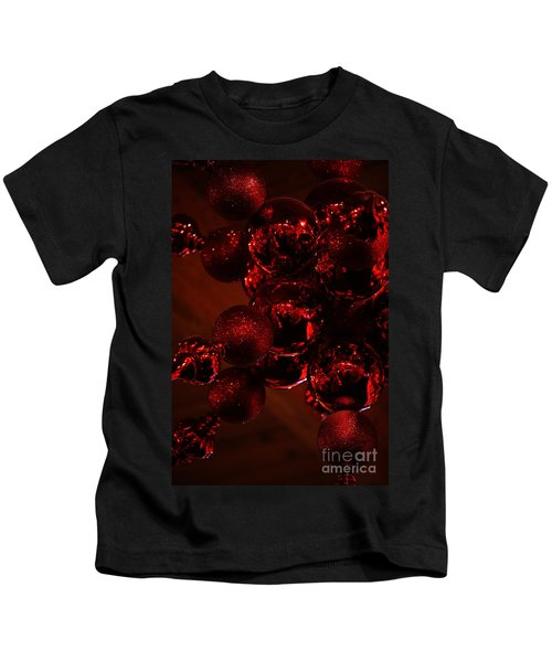 Shimmer In Red Kids T-Shirt