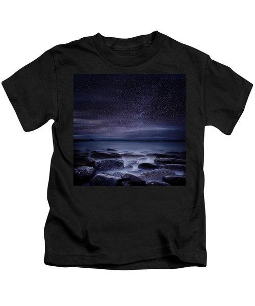 Shining In Darkness Kids T-Shirt