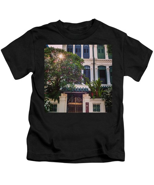 Singapore Traditional Houses Kids T-Shirt