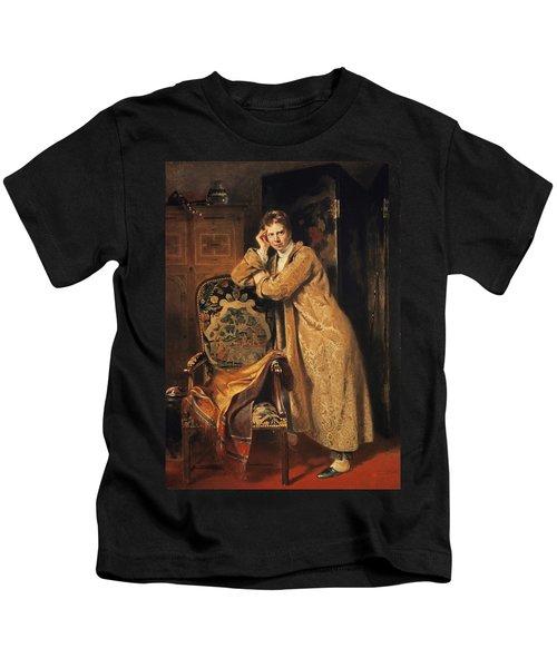 Sir David Wilkie 1785-1841, 1816 Panel Kids T-Shirt