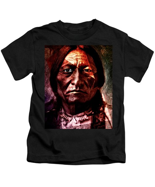 Sitting Bull - Warrior - Medicine Man Kids T-Shirt