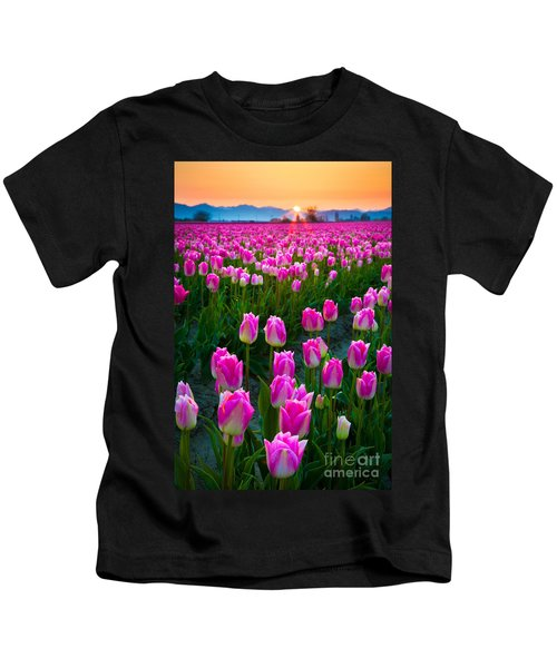 Skagit Valley Dawn Kids T-Shirt