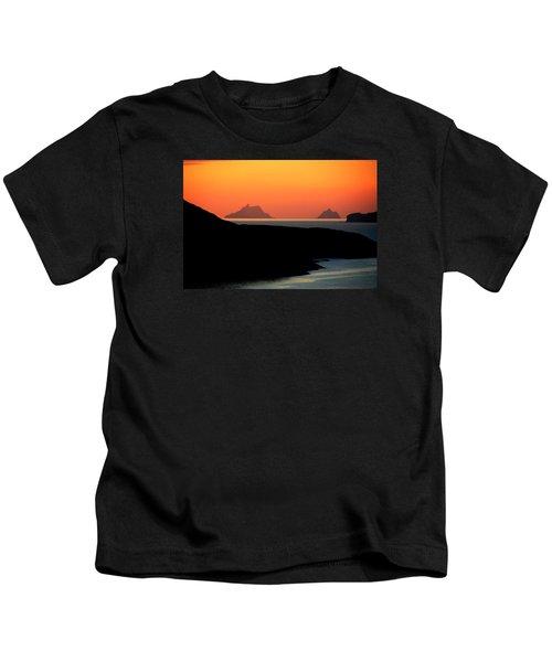 Skellig Islands  Kids T-Shirt