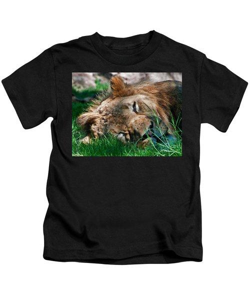 Sleepy Kitty Kids T-Shirt