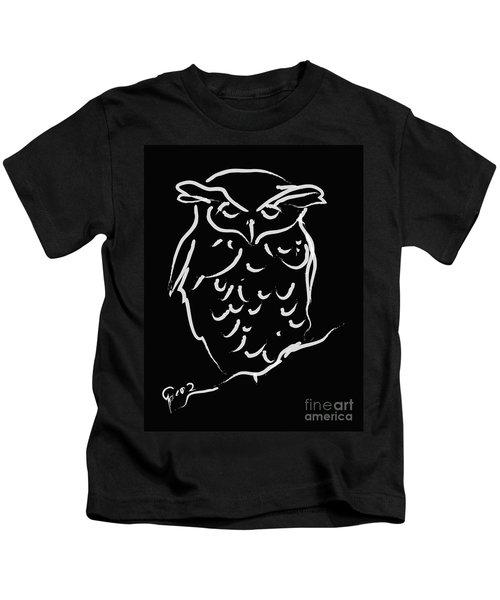Sleepy Owl Kids T-Shirt