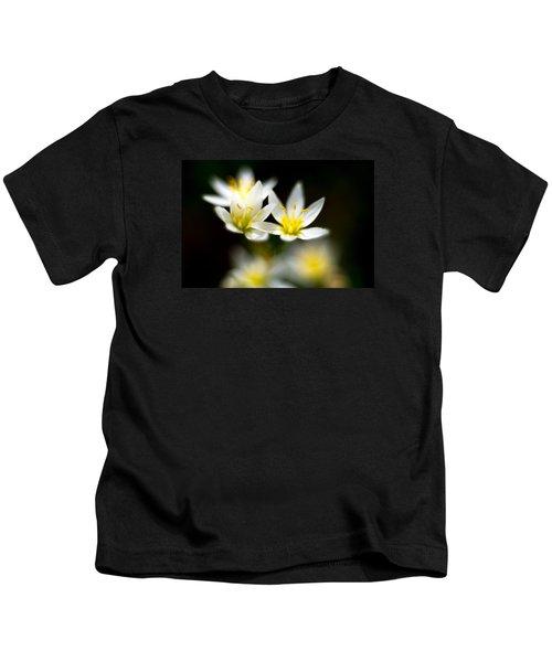 Small White Flowers Kids T-Shirt