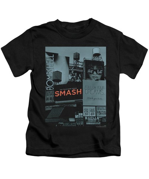 Smash - Billboards Kids T-Shirt by Brand A