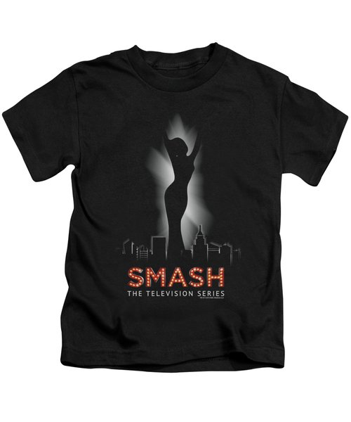 Smash - City Lights Kids T-Shirt by Brand A
