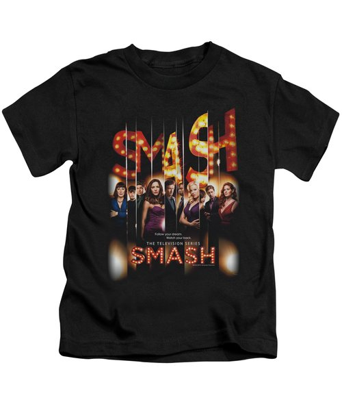 Smash - Poster Kids T-Shirt by Brand A