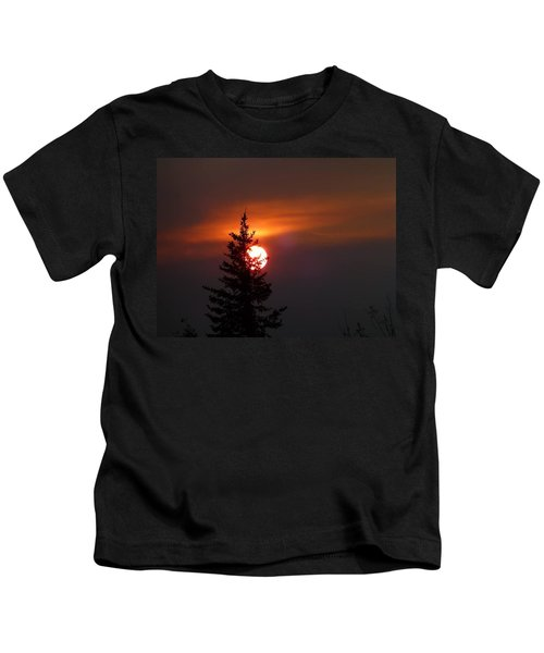 Smokey Sky  Kids T-Shirt
