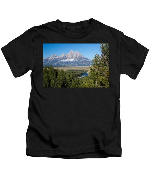 Snake River Overlook Kids T-Shirt