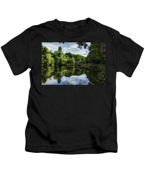 Snowdonia Summer On The River Kids T-Shirt