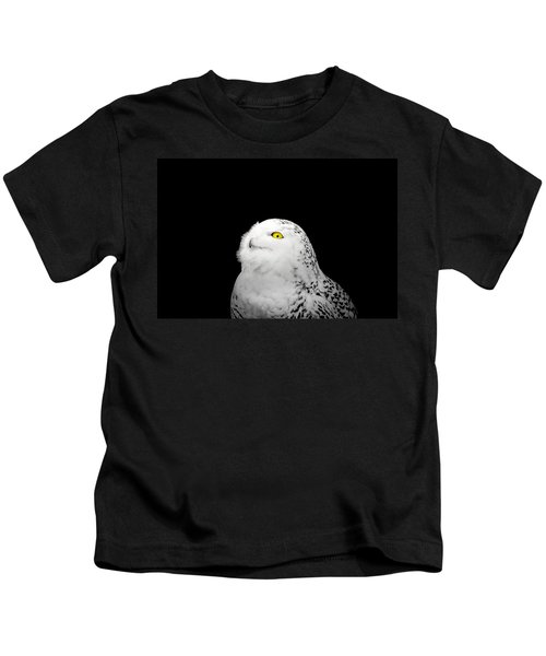 Snowy Owl Kids T-Shirt