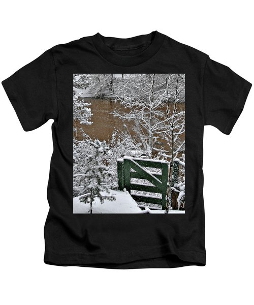 Snowy River Gate Kids T-Shirt
