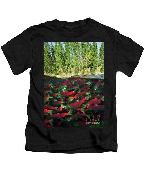 Sockeye Salmon Run Kids T-Shirt