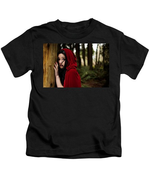 Sounds In The Woods Kids T-Shirt