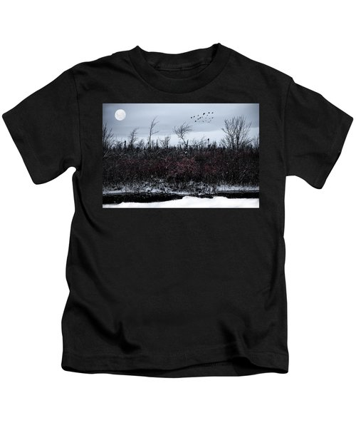 South To The Moon Kids T-Shirt