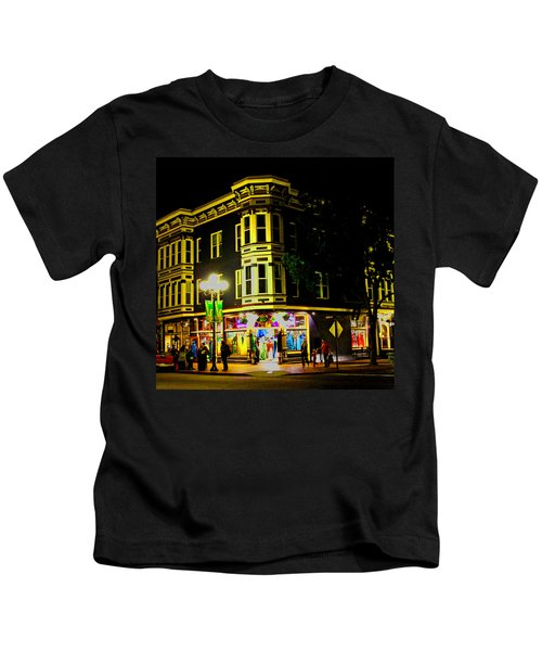 Southern California Streets At Sunset Kids T-Shirt