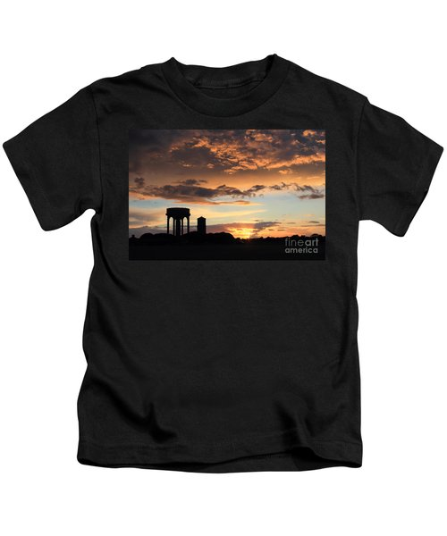Water Towers On Southwold Common Kids T-Shirt
