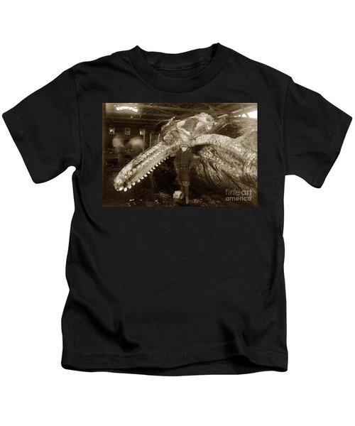 Sperm Whale Taken At Moss Landing California  On January 22 1919 Kids T-Shirt