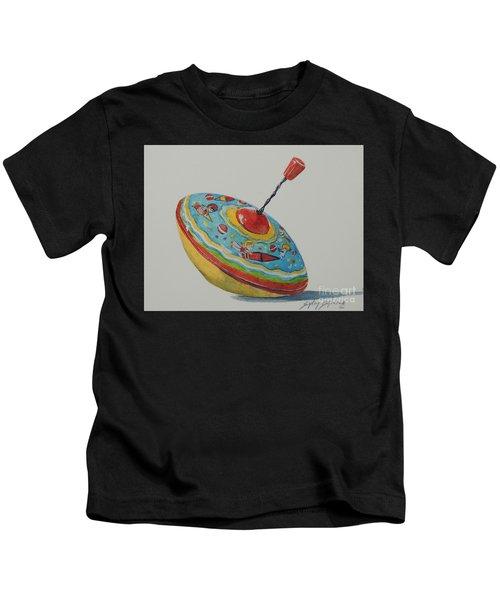 Spinning Girls...sold  Kids T-Shirt