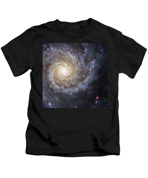 Spiral Galaxy M74 Kids T-Shirt