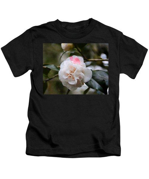 Splash Of Pink Kids T-Shirt