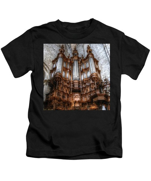 Spooky Organ Kids T-Shirt