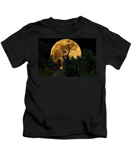 Spooky Road Kids T-Shirt