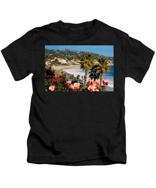 Springtime In Laguna Kids T-Shirt