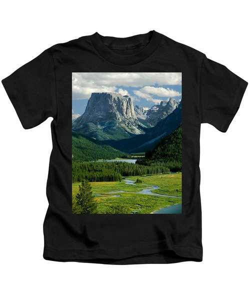 Squaretop Mountain 3 Kids T-Shirt