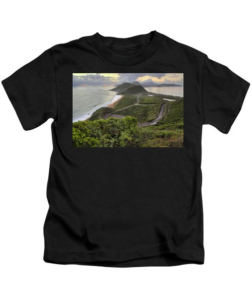 St Kitts Overlook Kids T-Shirt