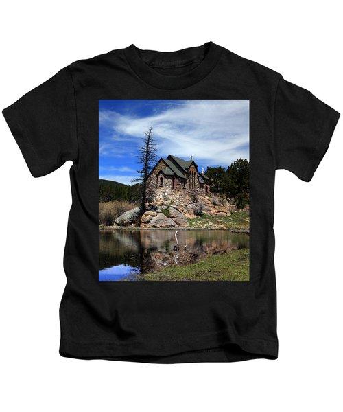 St. Malo Chapel Kids T-Shirt