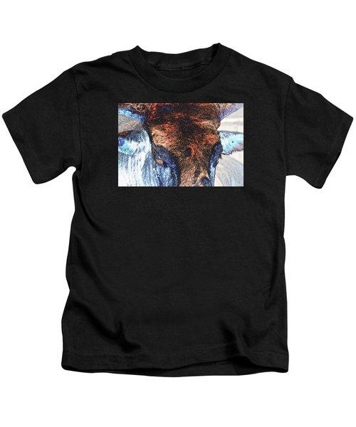 St Paul Rodeo Bull 25407 Neon Kids T-Shirt