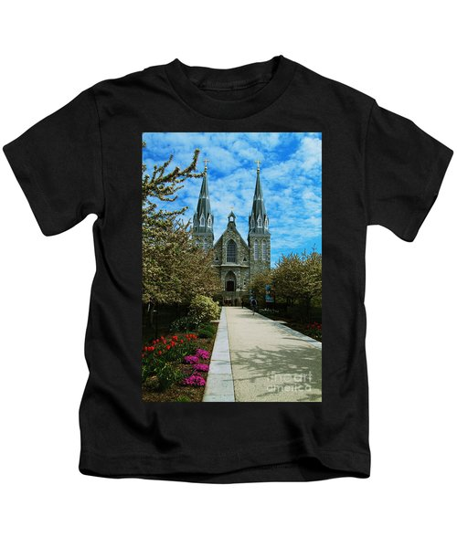 St Thomas Of Villanova Kids T-Shirt
