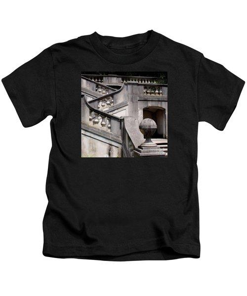 Stairway At Winterthur Kids T-Shirt