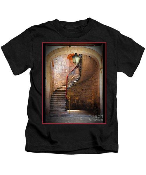 Stairway Of Light Kids T-Shirt