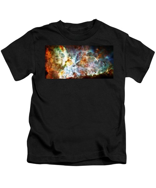 Star Birth In The Carina Nebula  Kids T-Shirt