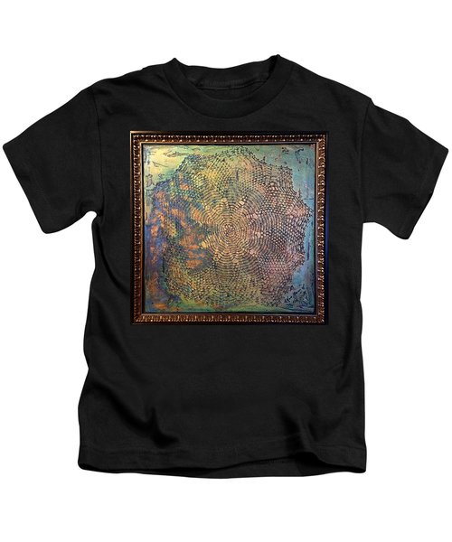 Star Masterpiece By Alfredo Garcia Art Kids T-Shirt