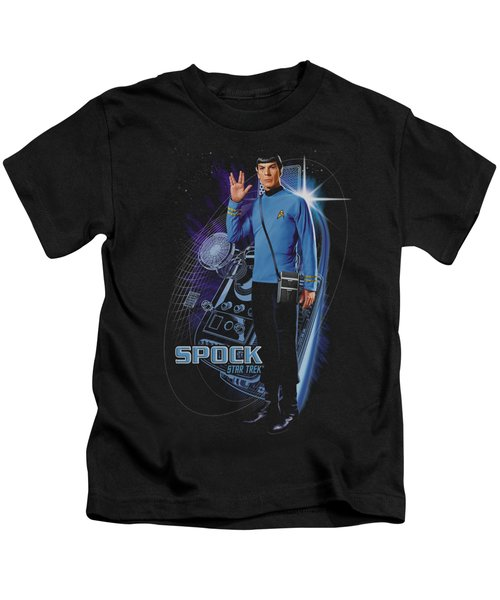 Star Trek - Galactic Spock Kids T-Shirt