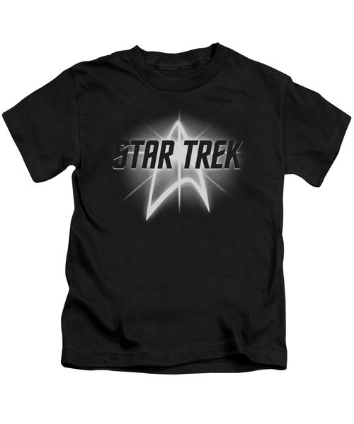 Star Trek - Glow Logo Kids T-Shirt
