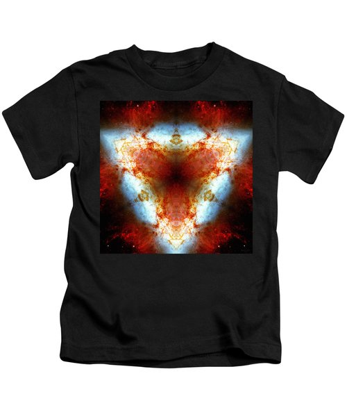 Starburst Galaxy M82 Vi Kids T-Shirt