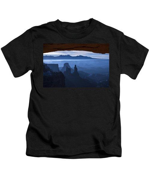 Starlit Mesa  Kids T-Shirt